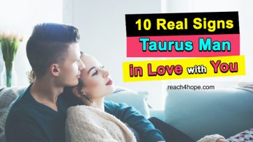 10 Real Signs Taurus Man In Love With You