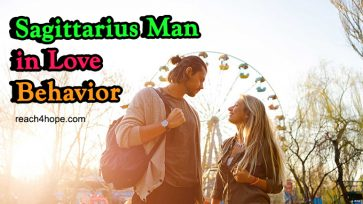 Sagittarius Man in Love Behavior